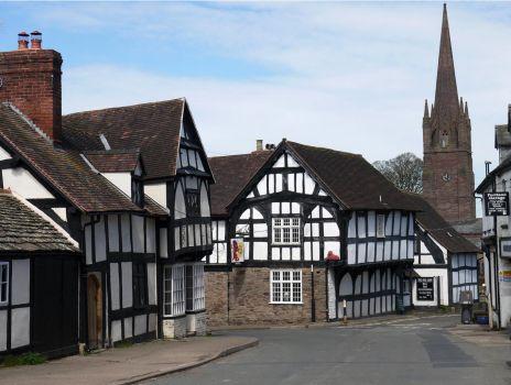 Weobley Village. Herefordshire.