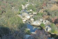 Looking Down On The Kaweah River Near The Entrance Station To Sequoia National Park
