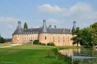 Castle of Saint Fargeau, Burgundy, France #1