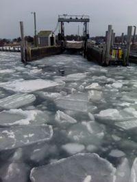 Chappaquiddick Ferry Winter 2015