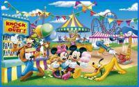 Goofy and Mickey at the Fun Fair