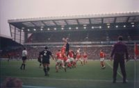 Rugby Match, Wales vs New Zealand, Manchester England
