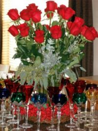 12th Night Party Centerpiece