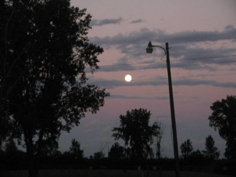 Full moon July 30, 2015