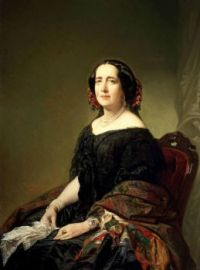1857 Gertrudis Gómez de Avellaneda by Federico de Madrazo