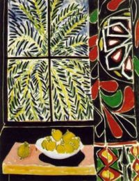 HENRI MATISSE (1869 -1954) 'The Egyptian Curtain', 1948 (oil on canvas)