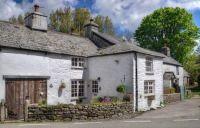Old cottages in Altarnun, Bodmin Moor, Cornwall