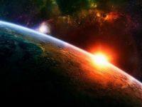 earth space sunrise