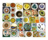 1970s stoneware plates