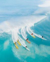 Catchin' a wave!!