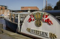 """Paddle steamer """"Hjejlen"""". Inspired by Vips!!"""