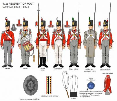 41st Regiment of Foot 1812-1815