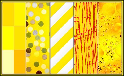 Abstracts in Yellow! (KaleidoBOARDS)