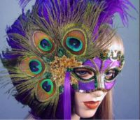 Peacock Lady Mask