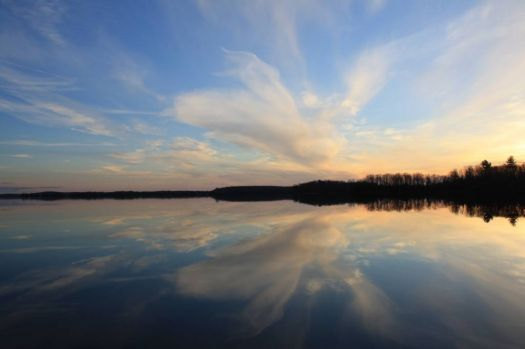 Mirrored Sky, Buckhorn Lake
