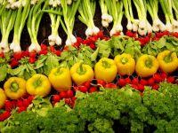 Organic veggies ... where's the salad dressing?