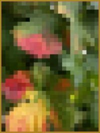 Leaf mosaic Large