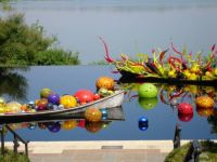 Chihuly at the Dallas Arboretum
