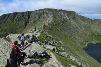 Striding Edge, Helvellyn, Lake District, UK