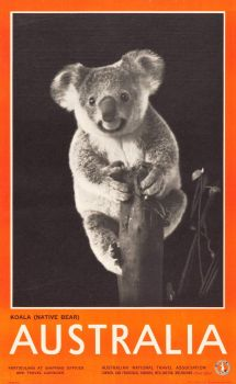 Australian travel poster, 1930s