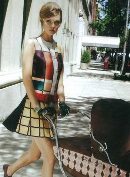 Mondrian inspired outfit