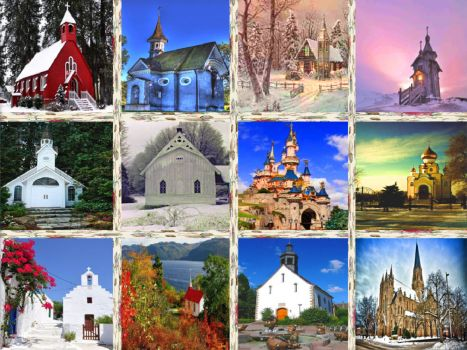 CHURCHES AROUND THE WORLD