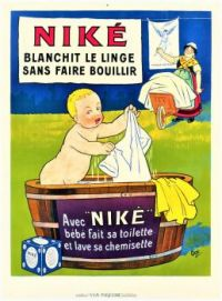 Themes Vintage ads - Nike washing powder