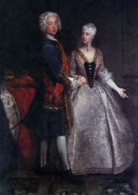 Charles William Frederick, Margrave of Brandenburg-Ansbach, and Princess Friederike Luise of Prussia