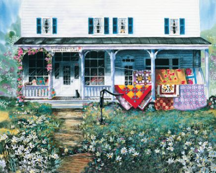 Country store quilts