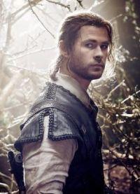 "Celebrating Chris Hemsworth as Eric in ""The Huntsman"""