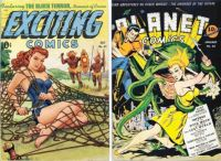 Exciting Comics No. 62 and Planet Comics #22