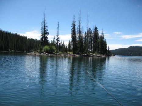 Fishin' at Island Lake  Grand Mesa, CO.