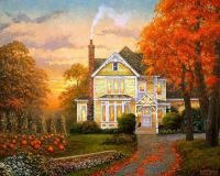 Autumn Evening by Keith Brown