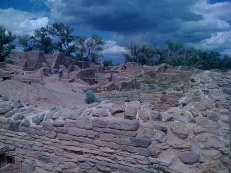 Aztec Ruins in Northwestern New Mexico