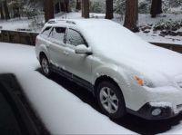First snow November 8, 2020