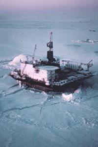 Artic drilling 1983