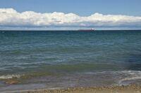Canada Steamship Liner on Lake Huron - Michigan
