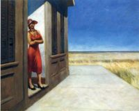 Edward Hopper - South Carolina Morning (1955)