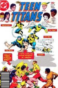 Teen Titans vs X-Men