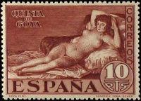 1930 Spanish Stamp honoring Goya