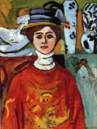 The Girl With The Beautiful Eyes 1908  Henri Matisse