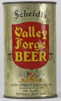 QUART Valley Forge Beer - Lilek #841