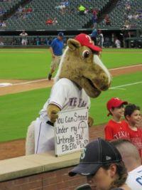 Texas Ranger's Mascot