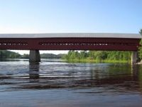 Covered bridge at Wakefield, Quebec