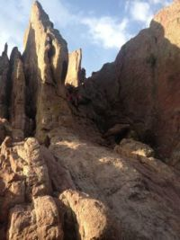 red rocks hike