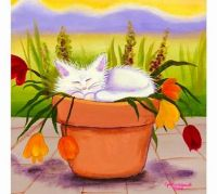 Planted Kitty