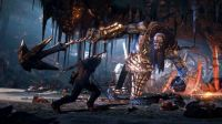 The Witcher 3 Wild Hunt - Geralt of Rivia fighting a monster