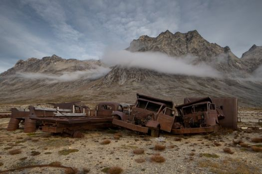 There are heaps of WWII junk rusting in Greenland  3
