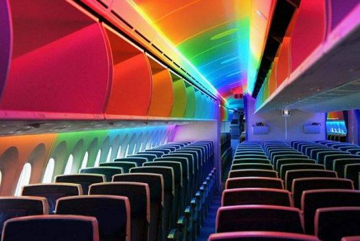 PSYCHEDELIC AIRPLANE