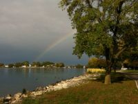 Rainbow over North Tonawanda--smaller